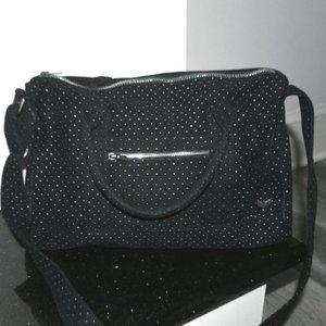 NOLLIE Holographic Polka Dots Shoulder Bag